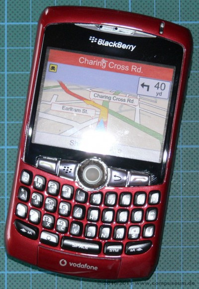 Blackberry Curve 8310 rot