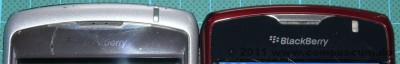 Closeup CDMA- und GSM-Curve