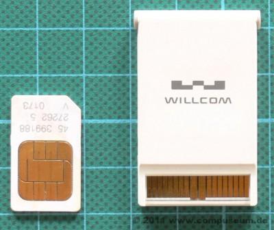Sharp WS003SH (W-Zero3) W-SIM (PHS)