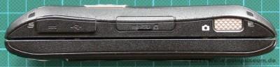 Sharp WS003SH (W-Zero3) Seitenansicht
