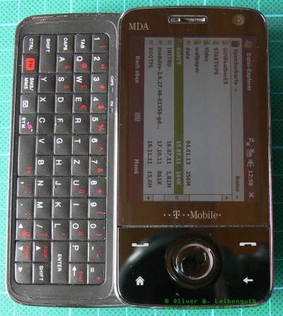 HTC Touch Pro Tastatur