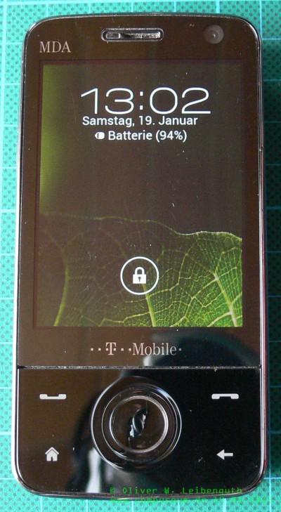 HTC Touch Pro ICS