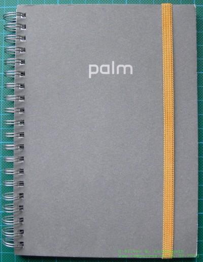 Palm Notizbuch geschlossen