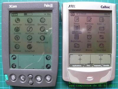 Vergleich CellvicOS - PalmOS 1