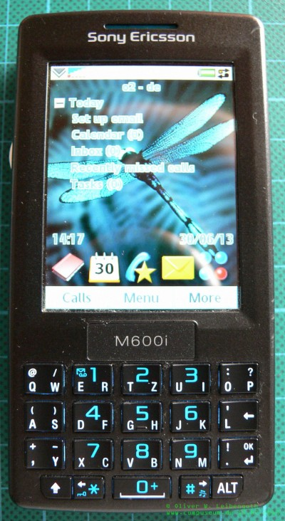 Sony Ericsson M600i vorne