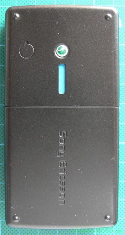 Sony Ericsson M600i hinten