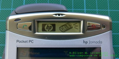 HP Jornada 928 WDA Telefon Display