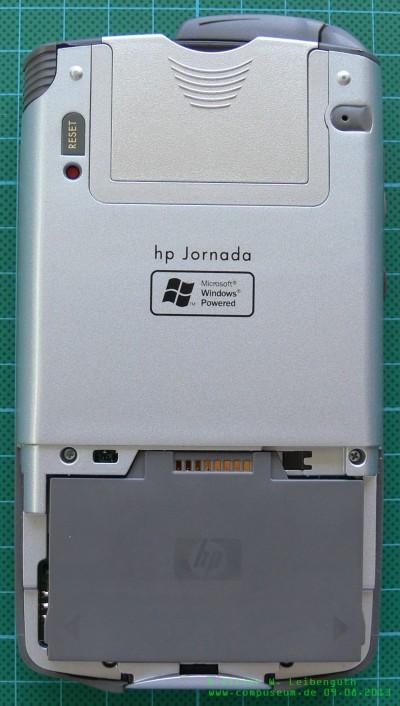 HP Jornada 928 WDA Rückseite