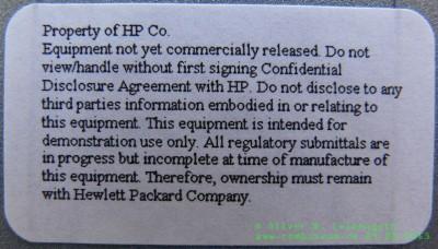 HP Jornada 928 WDA Aufkleber
