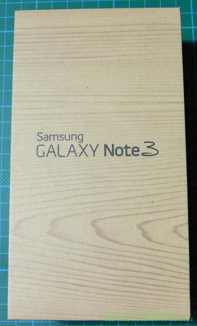 Samsung Galaxy Note 3 Verpackung