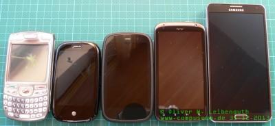 Smartphone-Historie