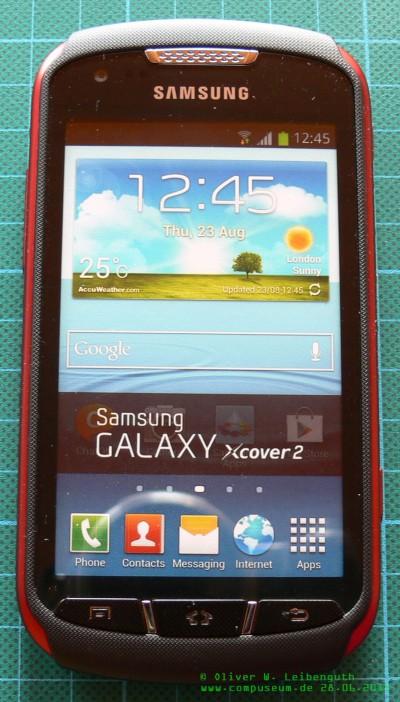 Samsung Xcover2 vorne