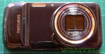 Samsung Galaxy S4 Zoom hinten