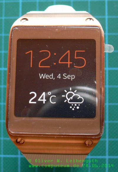 Galaxy Gear vorne