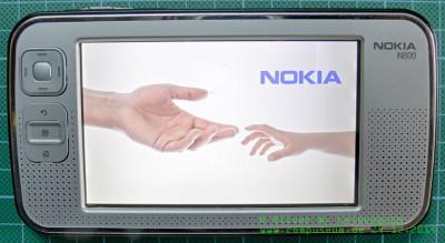 Nokia N800 Bootscreen