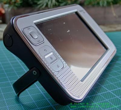Nokia N800 liegend