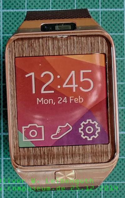 Samsung Gear 2 vorne