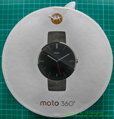 Moto 360 Verpackung