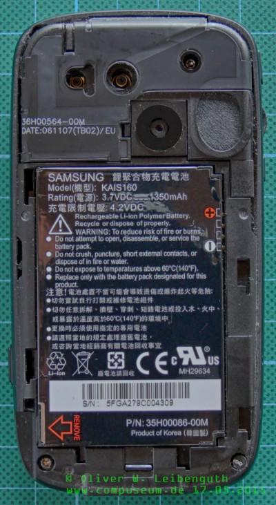 HTC Tytn II innen