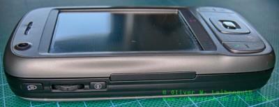HTC Tytn II linke Seite
