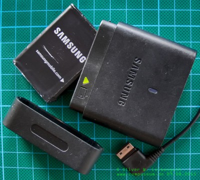 Samsung SGH-i780 Akkulader