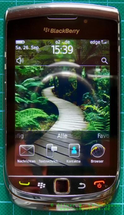 Blackberry Torch 9800 geschlossen