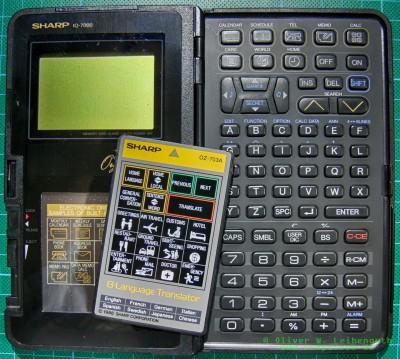 Sharp IQ-7000 offen