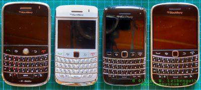 4 Blackberry Bold