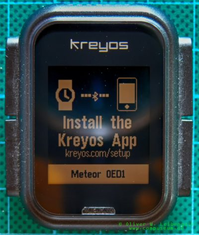 Kreyos Meteor Hardreset