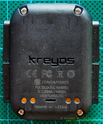 Kreyos Meteor Rückseite