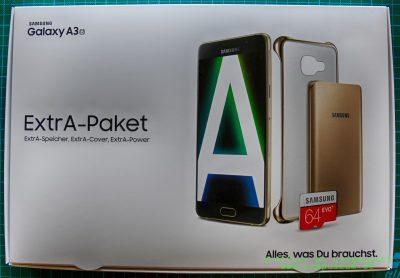Samsung Extra-Paket Verpackung