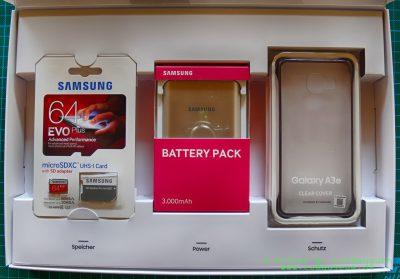 Samsung Extra-Paket Inhalt