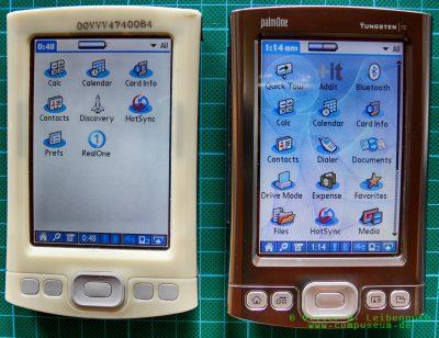 Palm Tungsten T5 EVT-Prototyp und Tungten T5