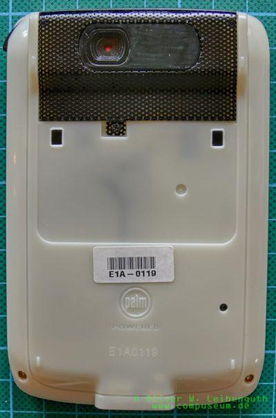 Palm Zire 2 EVT-Prototyp Rückseite