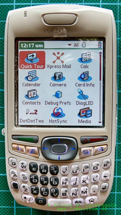 Palm Treo 680 EVT-Prototyp Vorderseite