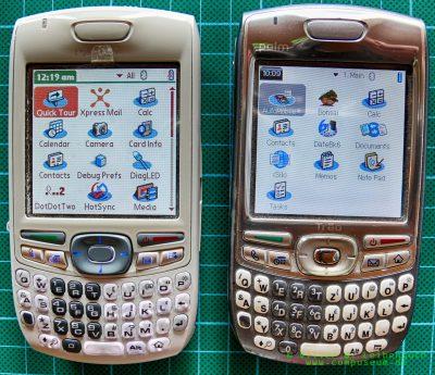 Vergleich Palm Treo 680 EVT-Prototyp und Treo 680