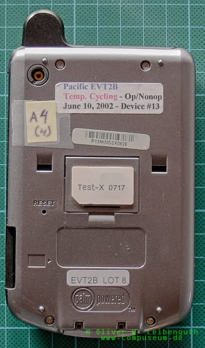 Palm X420 EVT-Prototyp Vorderseite